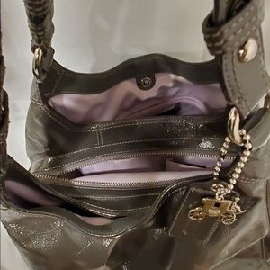 Coach Bags - Authentic Coach Patent Maggie Gray Purse